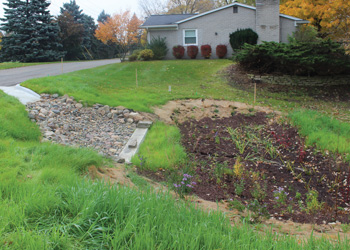 Rain Gardens and Rain Barrels, Image: Learn How to Mitigate Flooding and Utilize Runoff to Your Benefit
